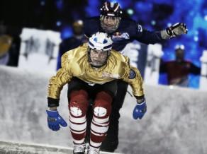 """Tripāns 42. vietā """"Red Bull Crashed Ice"""" 1. posmā"""