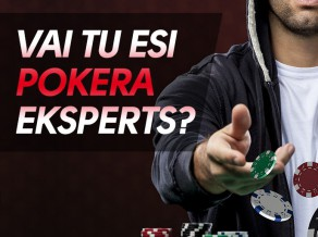 "Testa ""Vai Tu esi pokera eksperts?"" rezultāti un statistika"
