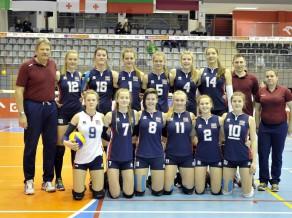 Latvijas U18 izlases volejbolistes uzņems Serbiju, Melnkalni un Ukrainu