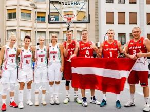 Latvijas 3x3 basketbolisti Eiropas kausa finālturnīru sāks pret Slovēniju un Čehiju