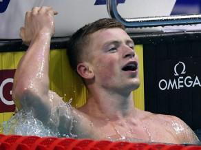Fantastiskais Pītijs vēlreiz labo pasaules rekordu, Ledeki trešā zelta medaļa