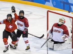 Šveice un Zviedrija apspēlē Āzijas hokejistes