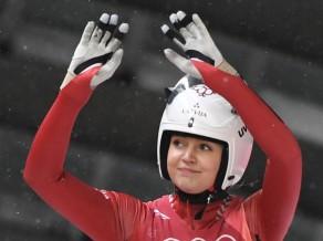 Latvijas kamaniņu braucēji no Phjončhanas atvadās ar 6. vietu stafetē