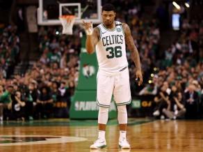 """""""Celtics"""" aizsargs Smārts: """"Mums ir liela pārliecība, un spēlējam lielisku basketbolu"""""""