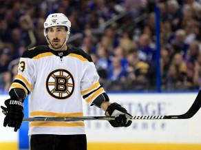 """""""Bruins"""" uzbrucējs Maršāns apsolās vairs nelaizīt pretinieku sejas"""