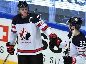 Kanāda uzvar Vāciju un ceturtdaļfinālā spēlēs pret Krieviju