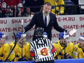 Zviedrijas treneris vaino latviešus tēlošanā, spēlētāji piekrīt