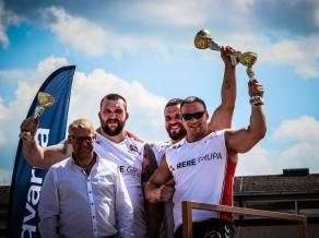 Spēkavīru čempionāta 1.posmā Saldū uzvar Šmaukstelis