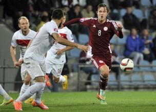 """Itālijas medijs: """"Udinese"""" interesējas par Jāni Ikaunieku"""