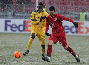 """Vaņina """"Sion"""" mazākumā piedzīvo pirmo zaudējumu Eiropas līgā"""