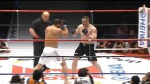 Video: Mirko Filipovičs nokautē Satoši Išī