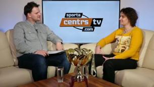 """Video: Liene Adamane par mērķi iziet laukumā """"Arēna Rīga"""" un spilgto karjeru"""