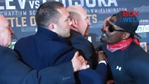 Video: Puļevs un Čisora gandrīz izkaujas pēc preses konferences