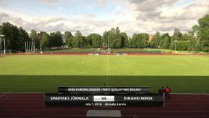 Video: UEFA Eiropas līga: Spartaks - Dinamo Minsk. Spēles ieraksts