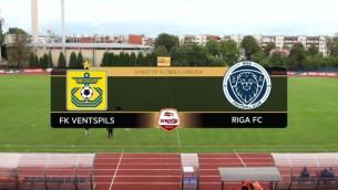 Video: Synottip futbola virslīga: FK Ventspils - Riga FC. Spēles ieraksts