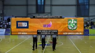Video: Austrumeiropas sieviešu basketbola līga: TTT Rīga - AZS UMCS Lublin. Spēles ieraksts