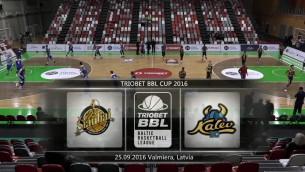 Video: Triobet BBL Cup. Spēle par 3.vietu, BK Šiauliai - Kalev/Cramo. Spēles ieraksts