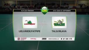 Video: Lielvārde/FatPipe - Talsi/Irlava Elvi florbola līga. Spēles ieraksts