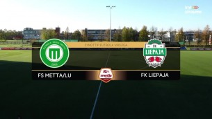 Video: SynotTip futbola virslīga: FS Metta/LU - FK Liepāja. Spēles ieraksts.
