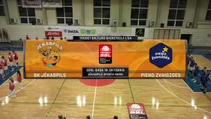 Video: Triobet BBL. BK Jēkabpils - Pieno Zvaigzdes, spēles ieraksts