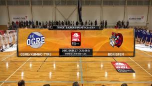 Video: Triobet BBL: BK Ogre/Kumho - Borisfen. Spēles ieraksts