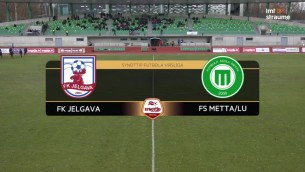 Video: SynotTip futbola Virslīga. FK Jelgava - FS Metta/LU. Spēles ieraksts