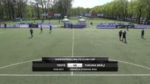 Video: Baltijas kauss minifutbolā 2017: TENTE - TUKUMA BRĀĻI. Spēles ieraksts