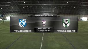Video: Mercure Rīga kauss futbolā: FK Staiceles Bebri - FK Tukums 2000/TSS. Spēles ieraksts