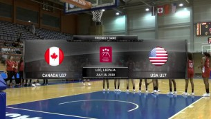 Video: Kanādas U17 - ASV U17, spēles ieraksts
