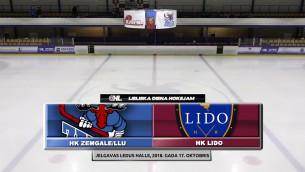 Video: OHL: HK Zemgale/LLU - HK Lido