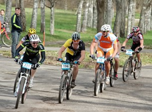 SEB MTB 1. posms finišē Valmierā