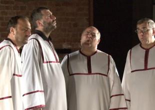 Video: Noklausies. Unikālu Gruzijas dziedoņu uzstāšanās Rīgā