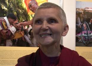 Video: Budistu mūķene Margarita Putniņa par svētceļojumu Indijā