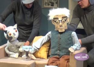 """Video: Leļļu teātris aicina skatīties un piedalīties """"Jūlijonkuliņa ziemassvētkos"""""""