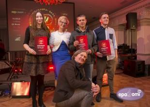 """Video: Jautrā ceremonijā paziņo """"Zelta mikrofons 2015"""" nominantus"""