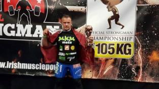 """Rozentālam bronza """"World's Strongest Man"""" sacensībās Belfāstā"""