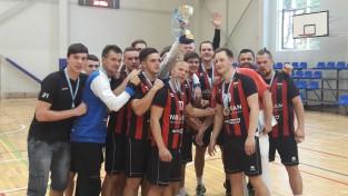 """Rīgas čempionātā triumfē """"Celtnieka"""" handbolisti"""