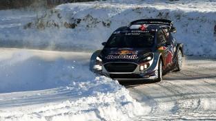Montekarlo WRC rallijā triumfē Ožjē, igaunis Tanaks trešais