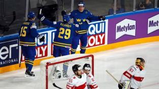 Zviedri apliecina favorītu statusu un ceturtdaļfinālā pieveic Šveici
