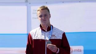 Kanoists Lagzdiņš - junioru pasaules vicečempions
