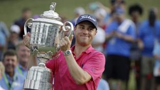 """Tomass triumfē """"PGA Championship"""", iegūstot pirmo """"major"""" titulu"""