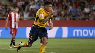 ''Atletico'' mazākumā sezonas pirmajā spēlē izglābjas pret līgas debitanti