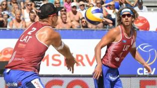 Samoilovs un Šmēdiņš ceturto reizi iekļūst Eiropas čempionāta finālā