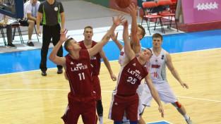 Studentu basketbola izlase turpinās cīņu par medaļām: 1/4fināls pret Vāciju