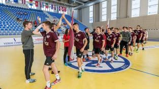 Latvijas U-20 handbola izlase apspēlē turkus un izcīna otro uzvaru