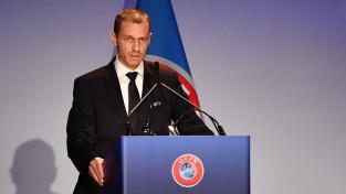 UEFA prezidents Čeferins kritizē angļu klubu attieksmi pret Baku finālu