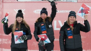 Lelde Gasūna otrā Igaunijas čempionātā slalomā