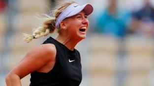 """18 gadus vecā Potapova uz """"French Open"""" galvenās skatuves satriec Kerberes aizsardzību"""