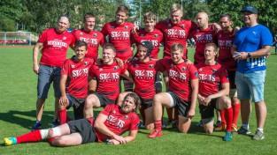 """""""Miesnieki""""/ """"Ķekava"""" trešo gadu pēc kārtas kļūst par Latvijas čempioniem regbijā-7"""