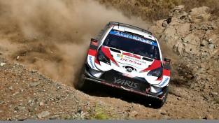 Notikumiem bagātajā Turcijas WRC rallijā uzvar Evans, Lēbs trešais